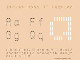 Ticket Mono OT