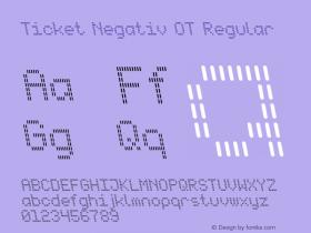 Ticket Negativ OT
