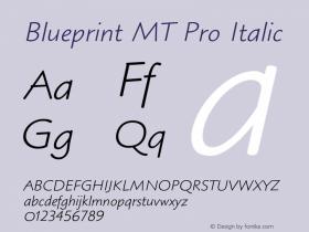 Blueprint MT Pro