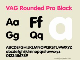 VAG Rounded Pro