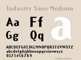 Industry Sans