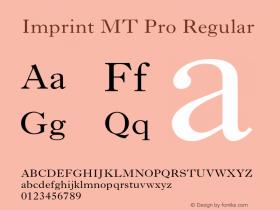 Imprint MT Pro