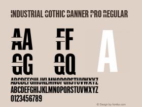 Industrial Gothic Banner Pro