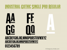 Industrial Gothic Single Pro
