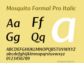 Mosquito Formal Pro