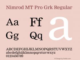 Nimrod MT Pro Grk
