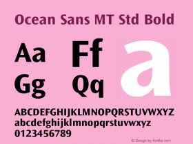 Ocean Sans MT Std