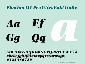 Photina MT Pro