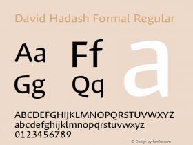 David Hadash Formal