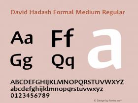 David Hadash Formal Medium