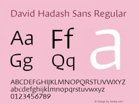 David Hadash Sans