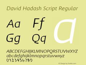 David Hadash Script