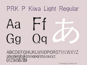 PRK P Kiwa Light