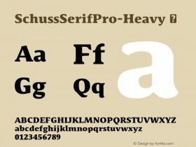 SchussSerifPro-Heavy
