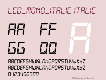 LCD_MONO_ITALIC