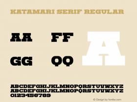 Katamari Serif