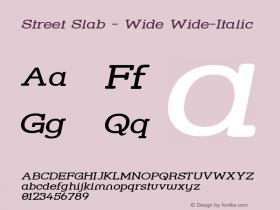 Street Slab - Wide