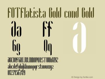 FOTFlatista Bold cond