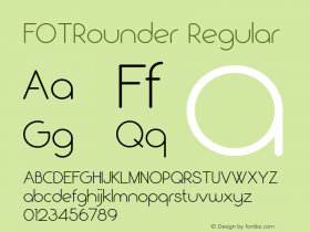 FOTRounder