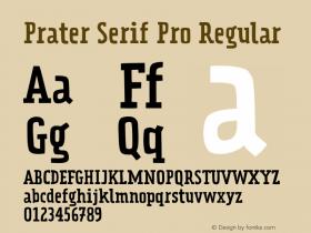 Prater Serif Pro