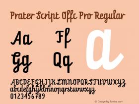 Prater Script Offc Pro