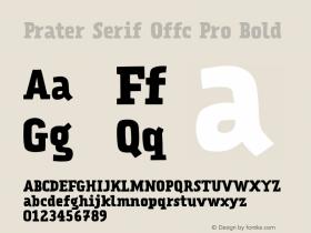 Prater Serif Offc Pro