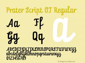 Prater Script OT
