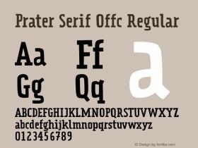 Prater Serif Offc