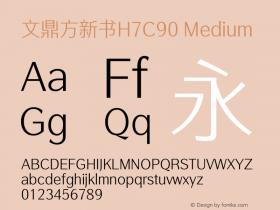 文鼎方新书H7C90