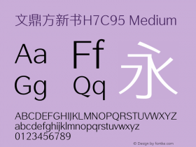 文鼎方新书H7C95