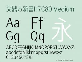 文鼎方新書H7C80