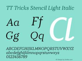 TT Tricks Stencil