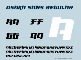 Osaka Sans