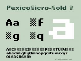 PexicoMicro-Bold