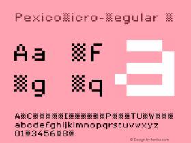 PexicoMicro-Regular