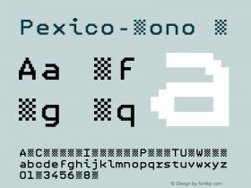Pexico-Mono