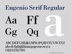 Eugenio Serif