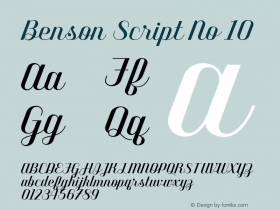 Benson Script
