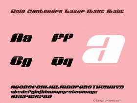 Nolo Contendre Laser Italic