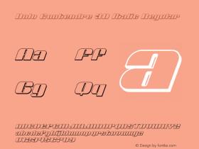 Nolo Contendre 3D Italic