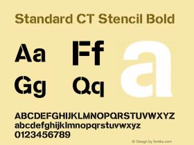 Standard CT Stencil