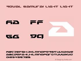 Royal Samurai Light