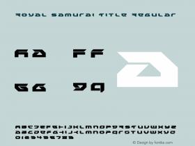 Royal Samurai Title