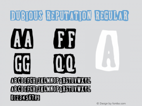 Dubious Reputation