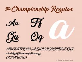 &Championship
