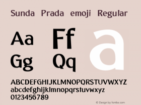 Sunda Prada emoji