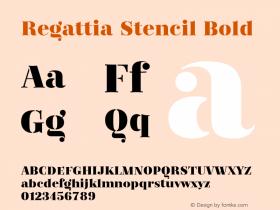 Regattia Stencil