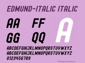Edmund-Italic