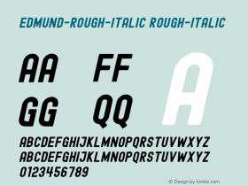 Edmund-Rough-Italic