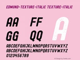 Edmund-Texture-Italic
